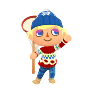 Animal Crossing - Pocket Camp - Character Artwork - Player - Boy 04