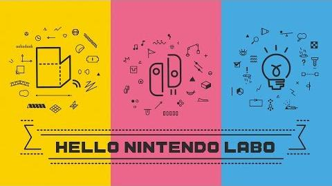Nintendo Labo - Tráiler presentación