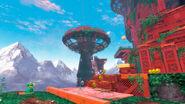 Super Mario Odyssey - Background Artwork - Wooded Kingdom