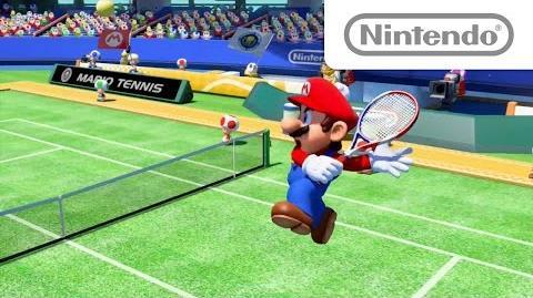 マリオテニス ウルトラスマッシュ E3 2015 出展映像