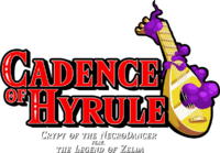 Cadence of Hyrule Crypt of the NecroDancer feat. The Legend of Zelda logo