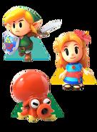 The Legend of Zelda - Link's Awakening - Characters