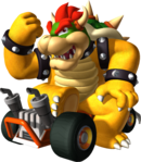 Bowser Artwork - Mario Kart DS