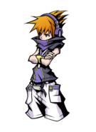The World Ends with You Final Remix - Character Art - Neku 21