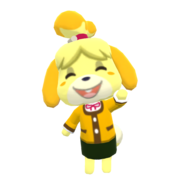 Animal Crossing - Pocket Camp - Character Artwork - Isabelle 01