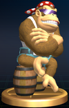 Funky Kong - Brawl Trophy