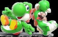 Mario n Rabbids - Yoshi Art