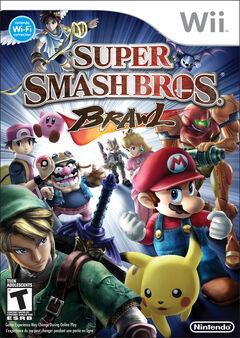 Super Smash Bros Brawl Portada