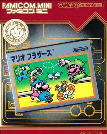 Famicom Mini Series Mario Bros Nintendo Fandom