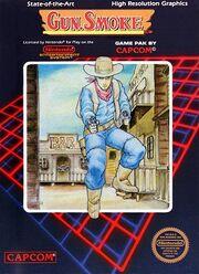 Gun.Smoke NES box art