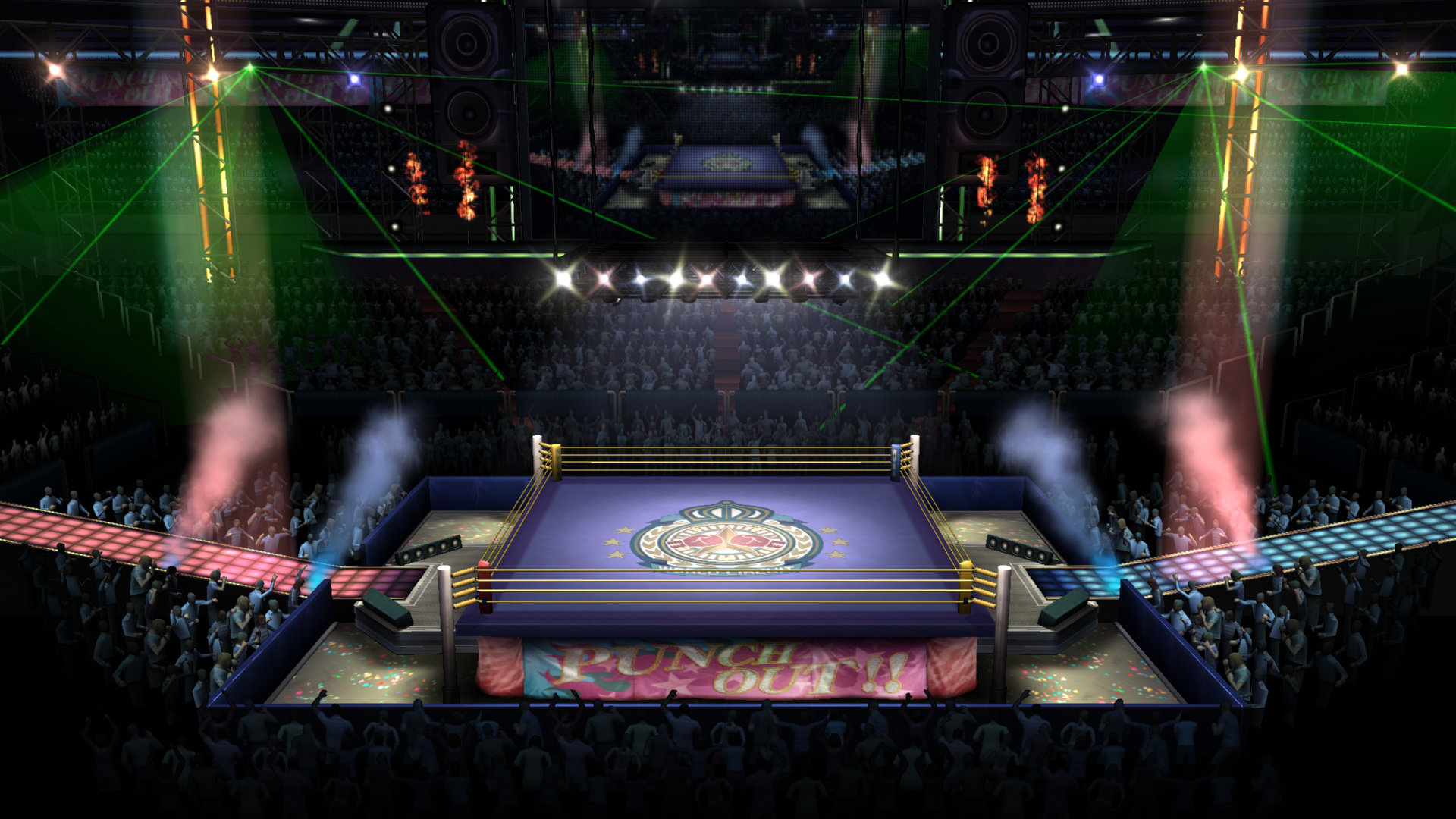 Boxing Ring Nintendo Fandom Powered By Wikia Odst Mario Kart Wii Fallout 3 Super Galaxy Paper Punch Out U Version Series Smash Bros