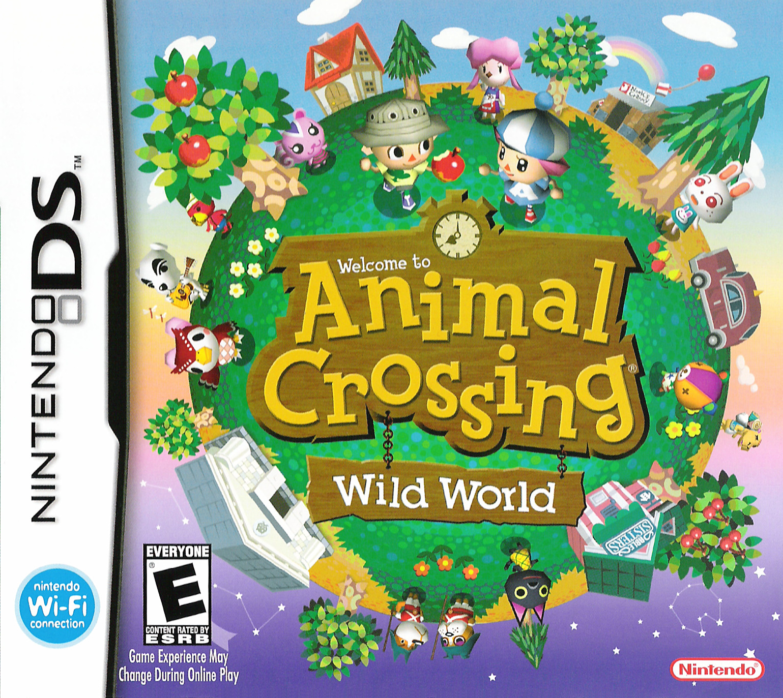 Image result for animal crossing wild world box art
