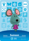 Animal Crossing Amiibo Card 060