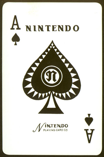A Nintendo playing card.