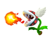 Super Mario Maker 2 - Flying Fire Piranha Plant