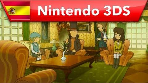 El profesor Layton y la Máscara de los Prodigios - Tráiler (Nintendo 3DS)