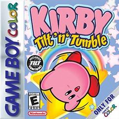 Kirby Tilt 'n' Tumble Coverart