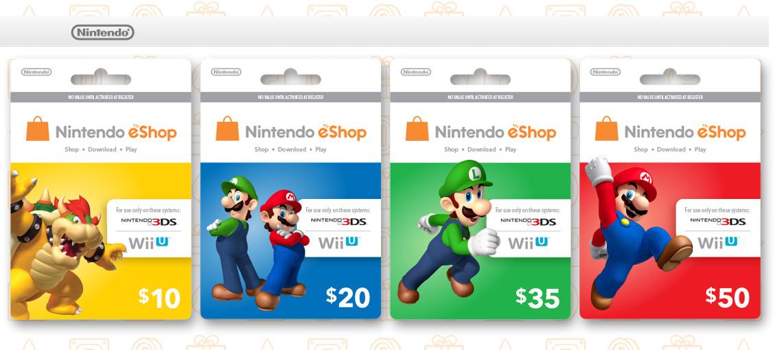 Nintendo eShop Card | Nintendo | FANDOM powered by Wikia