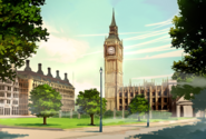 Layton's Mystery Journey Katrielle and the Millionaires' Conspiracy - Elizabeth Tower Big Ben