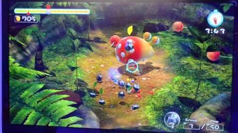 Pikmin 3 WiiU - Off-screen HD Trial Mode Gameplay