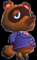 Tom Nook Artwork 1 - Animal Crossing GCN