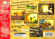Turok Dinosaur Hunter (NA) Back