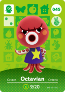 Amiibo - Card - Animal Crossing - Octavian