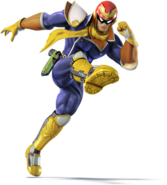Captain Falcon (SSB for 3DS Wii U)