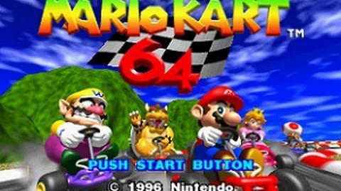 Nintendo 64 Longplay 002 Mario Kart 64