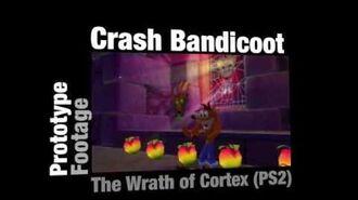 Crash Bandicoot - actual early prototype footage!