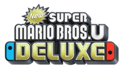New Super Mario Bros. U Deluxe logo