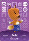 Animal Crossing Amiibo Card 012