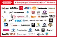 Nintendo Switch - A Sampling of Nintendo Switch Partners