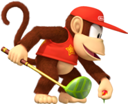 Diddy Kong- Mario Golf World Tour