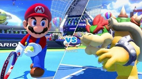 Mario Tennis Ultra Smash Walkthrough Part 1 - Knockout Challenge (Unlocking Star Mario)