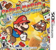 Paper mario sticker star box-art