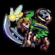 The Legend of Zelda Majora's Mask 3D - Character artwork 06