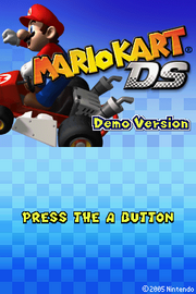 MarioKartDSDemoVersion