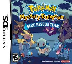 Pokemon Mundo Misterioso - Equipo de Rescate Azul (NA)