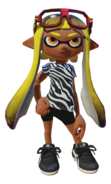 Splatoon - Zebra-T Glasses