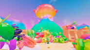 Super Mario Odyssey - Background Artwork - Luncheon Kingdom