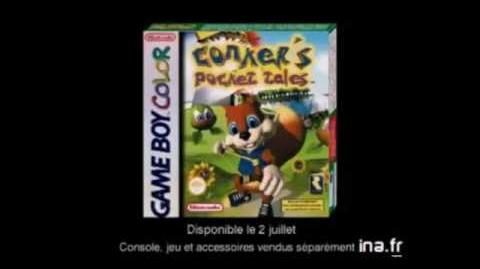 Conker's Pocket Tales - Game Boy Color - French - Commercial