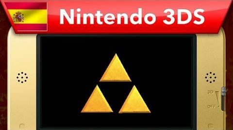 The Legend of Zelda A Link Between Worlds - Tráiler (Nintendo 3DS)
