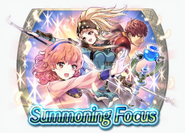 Fire Emblem Heroes - Summoning Banner - Alm and Celica's Battle