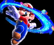 Mario Spin Art