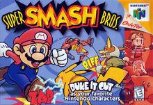 Super Smash Bros. (NA) boxart