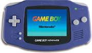 Game Boy Advance Purple Model