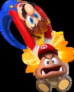 Super Mario Odyssey - Mario Capturing a Goomba
