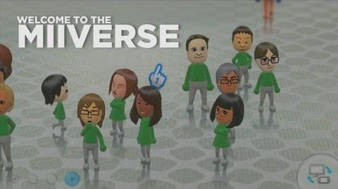 Welcome to the Miiverse