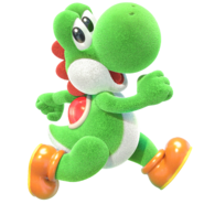 Yoshi's Crafted World - Character Artwork 01